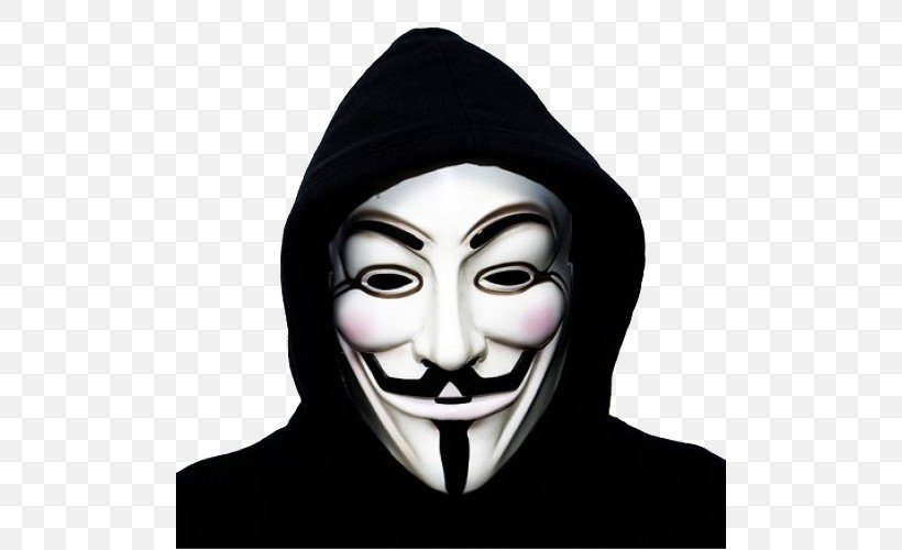 Anonymous Guy Fawkes Mask Gunpowder Plot, PNG, 500x500px, Anonymous, Anonymity, Display Resolution, Face, Fictional Character Download Free