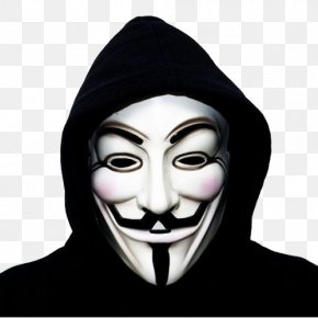 Anonymous Mask - Anonymous Guy Fawkes Mask Gunpowder Plot PNG