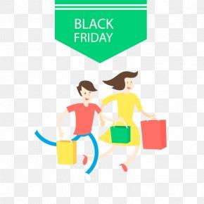 Vector Black Friday - Black Friday Shopping Bag PNG