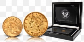 Gold Coins Usa - Gold Coin American Civil War United States Of America Confederate States Of America PNG