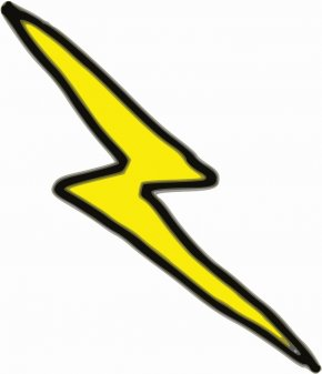 Graphic Lightning Bolt - Thunderbolt Lightning Thunderstorm Clip Art PNG