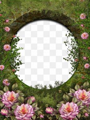 Photo Frame - Rose Garden Garden Roses PNG