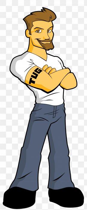 Jeans - T-shirt Undershirt Male Braces PNG