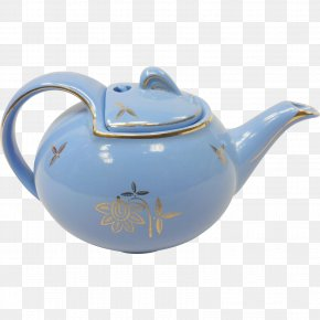 Teapot - Teapot The Hall China Company Pottery Tableware Lid PNG