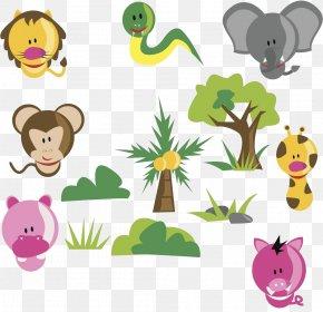 Tropical Rainforest Animals - Tropical Rainforest Okapi Animal PNG