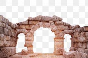 Ancient Castle Bridge - Arch Bridge Building Ancient History PNG