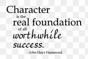 Quotation - Moral Character Quotation Thought Life Habits Change Into Character. PNG