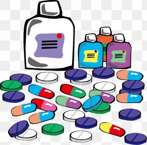 Pills Medicine - Pharmaceutical Drug Medicine Tablet Prescription Drug Clip Art PNG