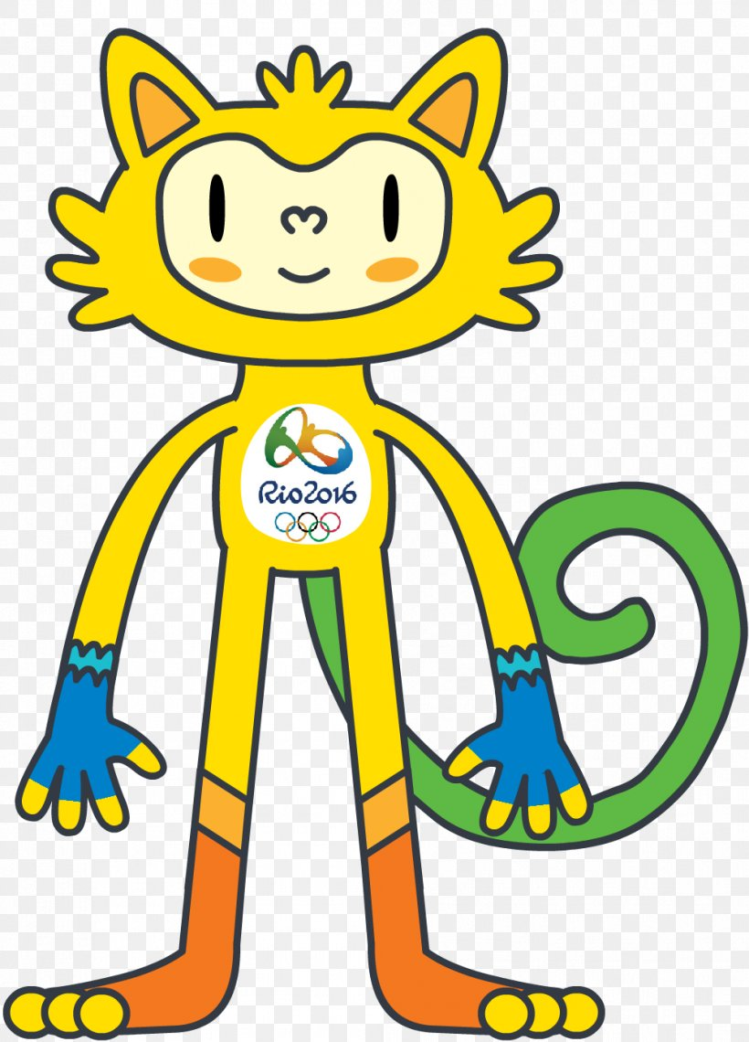 2016 Summer Olympics Olympic Games 2016 Summer Paralympics Rio De Janeiro Mascot, PNG, 994x1382px, 2016 Summer Paralympics, Olympic Games, Animal Figure, Area, Art Download Free