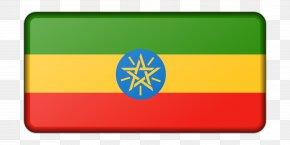 Flag - Flag Of Ethiopia Amharic Flag Of Kenya PNG