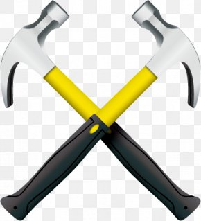 Vector Hammer Tool - Hammer Tool Knife Euclidean Vector PNG