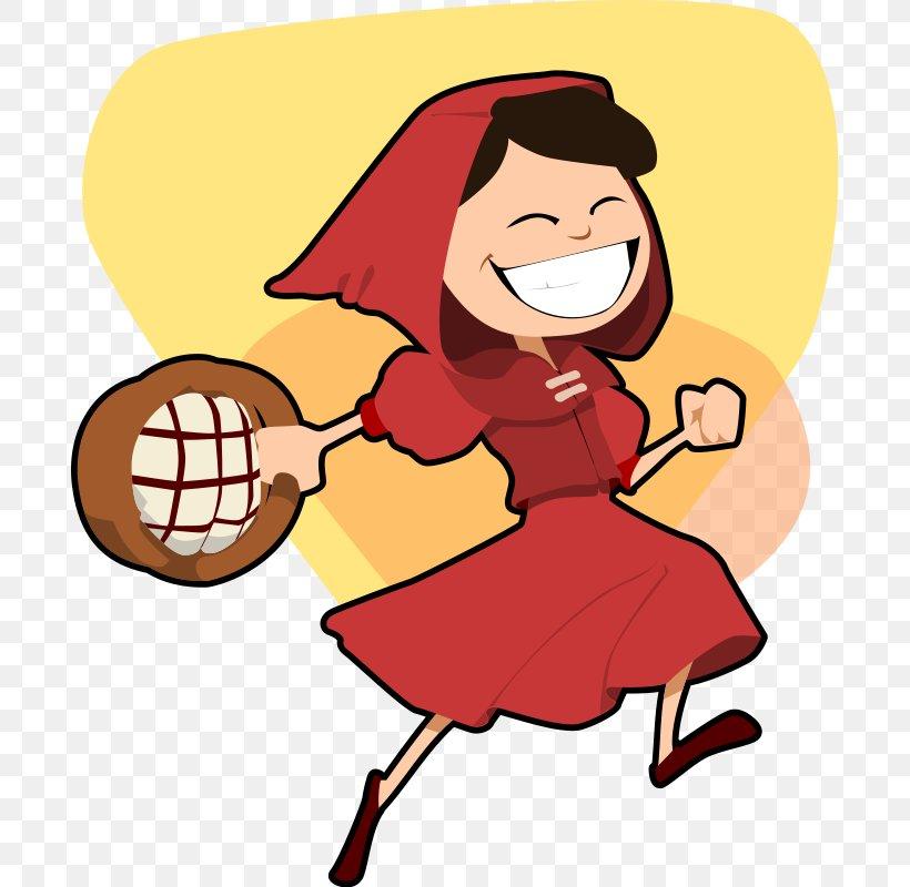 Big Bad Wolf Little Red Riding Hood Cartoon Clip Art Png