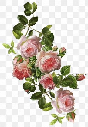 Flower - Floral Design Watercolor Painting Flower Decoupage PNG