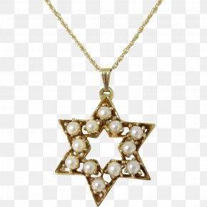 Star Of David Gold - Diamond Star Of David Pendant Diamond Star Of David Pendant Necklace PNG