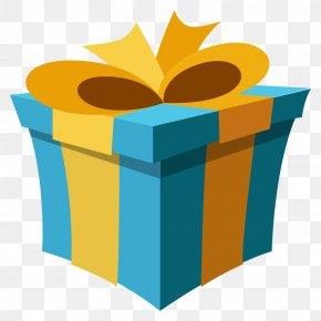 Present Box - Emoji Gift Emoticon Symbol SMS PNG