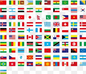 Italian Flag Vector - Flags Of The World National Flag Flag Of The United States PNG