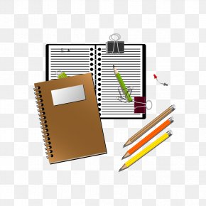 Vector And Pen - Notebook Pen Royalty-free Clip Art PNG