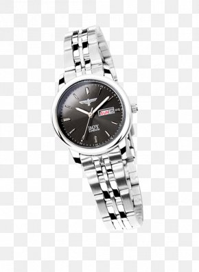 Watch - Silver Watch Strap Watch Strap PNG
