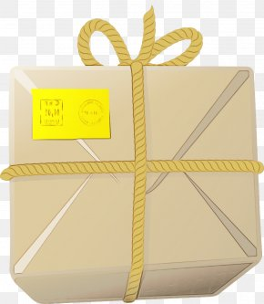 Paper Product Gift Wrapping - Watercolor Paper PNG