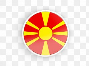 Flag - Flag Of The Republic Of Macedonia National Flag PNG