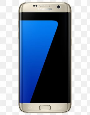 Android - Samsung GALAXY S7 Edge Android Smartphone LTE PNG