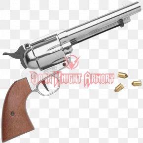 Western Pistol - Trigger Revolver Firearm Blank Pistol PNG
