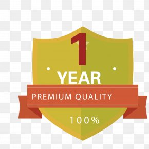 Vector Pattern Material One Year Warranty Guarantee - Euclidean Vector PNG