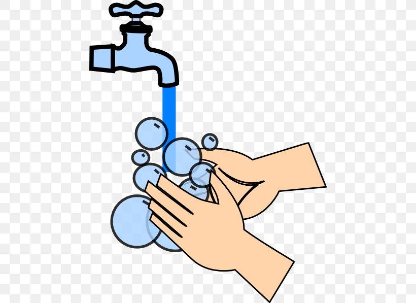 Hand Washing Hand Sanitizer Clip Art, PNG, 468x597px, Hand Washing, Area, Arm, Artwork, Cartoon Download Free