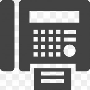 Fax Icon - Email Telephone Service Internet PNG