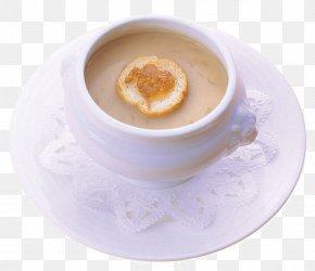 Cream Bread - Ice Cream Tea Cream Bun Panna Cotta PNG