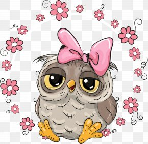 Vector Cute Owl - Owl Stock Illustration IStock PNG