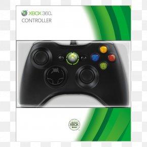 Xbox 360 Controller - Xbox 360 Controller Xbox One Controller Xbox 360 Wireless Headset Black PNG