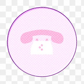 Violet Pink - Call Icon Phone Icon Telephone Icon PNG