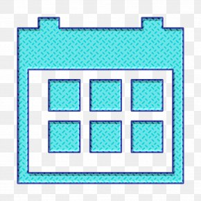 Rectangle Teal - Book Icon Calendar Icon Date Icon PNG