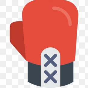 Red Boxing Gloves - Boxing Glove Sport Icon PNG
