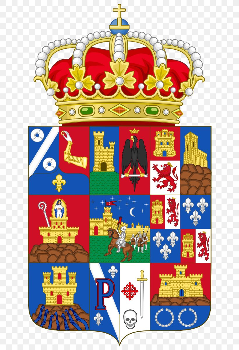 Coat Of Arms Of Asturias Coat Of Arms Of Asturias Victory Cross Kingdom Of Asturias Png