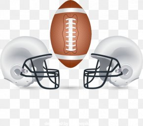 American Football And Helmet Vector Material Downloaded With The Ball, - Super Bowl 50 AFC–NFC Pro Bowl Euclidean Vector American Football Bowl Game PNG