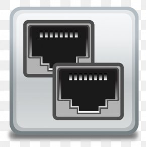 Network Switch Icon - Industrial Ethernet Serial Port RS-422 PNG