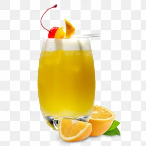 Lemonlime Tequila Sunrise - Lemon PNG