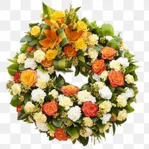 Wreath Wedding - Cut Flowers Floristry Floral Design Flower Bouquet PNG