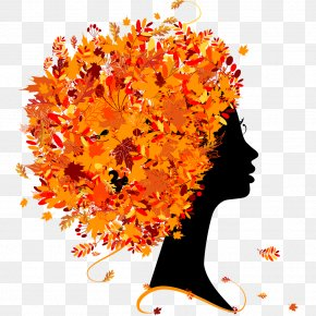 Leaves Flowers Silhouettes - Season Autumn Summer Royalty-free PNG