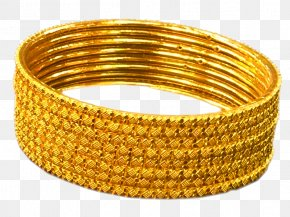 Gold Chain - Bangle Jewellery Earring Bracelet Gold PNG