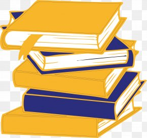 A Pile Of Books - Book Adobe Illustrator PNG
