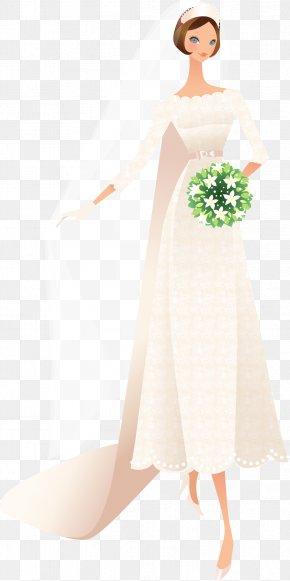 Vector Wedding - Bride Wedding Illustration PNG
