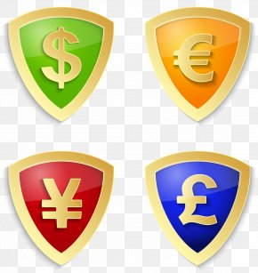 Vector Shield - Shield Dollar Sign Icon PNG