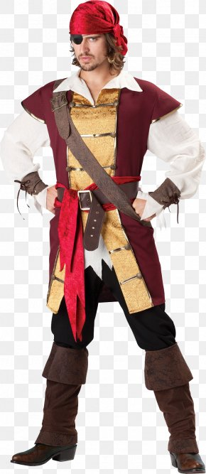 Pirate - Halloween Costume Piracy Costume Party Couple Costume PNG