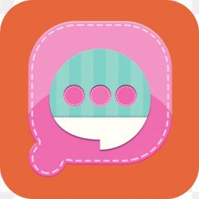 Smile Pink - Pink Circle PNG