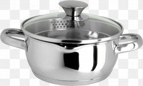 Cooking Pot - Stainless Steel Stock Pot Cookware And Bakeware Frying Pan Trivet PNG