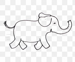Cat - Indian Elephant African Elephant Cat Dog Hare PNG