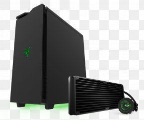 Logo Razer - Nzxt Computer Cases & Housings Phantom 240 Tower Chassis Hardware/Electronic Output Device Personal Computer PNG